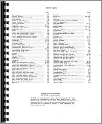Parts Manual Massey Harris 44 Special Tractor