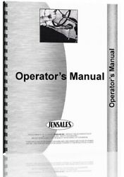 Operators Manual International Farmall A Tractor With 18 Highway Mower