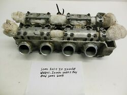 23h19 Yamaha Vx 110 2006 Cylinder Head Good 6d3-w009a-00-94 6d3-11102-00-94