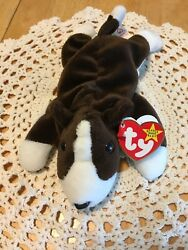 BRUNO the Terrier TY Beanie Baby Collection Retired Rare 1997