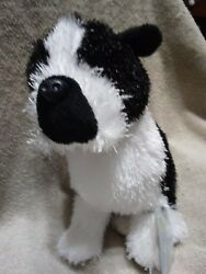 BOSTON TERRIER Black and White Plush with Tag Sealed Code GANZ Webkinz