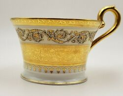 French Raynaud Ceralene Limoges China Imperial Gold China Teacup