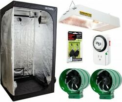 Cannabis Complete Grow Tent Kit With LED Light Vent Fans Indoor System Tall 4x4