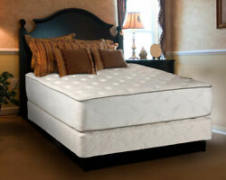 Exceptional Plush Two-Sided King Mattress set with Mattress Protector Included