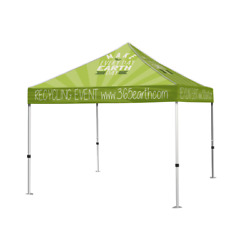 10x10 Pop Up Canopy Event Party Tent Custom Full Graphic Print+hardware+shipping