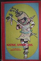1969 Native Americans In California And Nevada Handbook Jack D Forbes Naturegraph
