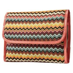 Missoni for Target Colore Cosmetic Valet Side Pockets Hook Lined Magnetic NWT $29.99