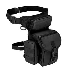 Leg Bag Military Tactical Drop Thigh Pouch Panel Utility Waist Belt Motorcycle $17.00