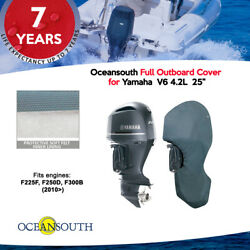 """Oceansouth Outboard Storage Full Cover For Yamaha V6 4.2l 25"""""""