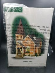 Dept 56 New England Village Series Providence Church Accessary Building 805526