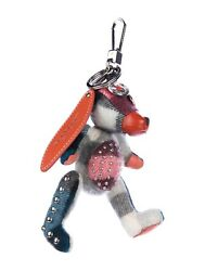 BURBERRY SANDRA THE BASSET HOUND KEYCHAIN CHARM AUTHENTIC PURSE CHARM