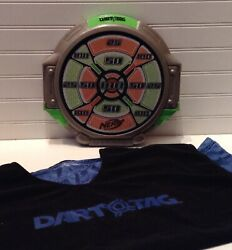 2009 Nerf Dart Tag 11 Soft Target Score Board And Jersey Shirt
