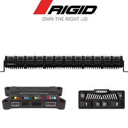 Rigid Industries Adapt Multi Color 50 Led Light Bar W/ Active View Technology
