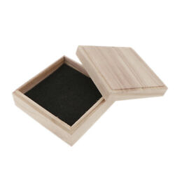 Antique Wooden Treasure Storage Jewellery Chestscufflink Small Gift Boxes