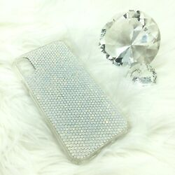 Choose Color And Ss - Bling Back Case For Iphone 11 Made With Crystals