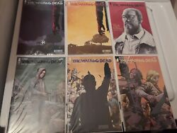 The Walking Dead 8 Comics Lot 193 And Sdcc Ed, 192 1st And 2nd,191,154, 100 Sdcc And