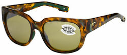 Costa Del Mar Waterwoman Sunglasses WTW-250-OSSGLP Tortoise  Sunrise 580G
