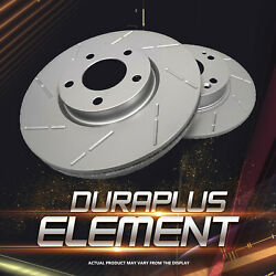 [front Slotted Brake Rotors Ceramic Pads] Fit 05 Infiniti Fx35 From 11/05