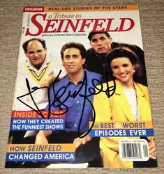 Jerry Seinfeld Signed 1998 A Tribute To Seinfeld Special Collector Magazine Rare