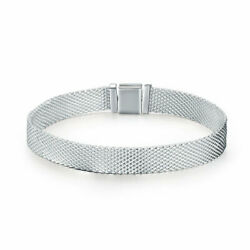 Bisaer Authentic 925 Sterling Silver Urban Style Bracelet Jewelry Fit Women Girl