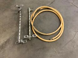 Stainless Steel Spray Bars And 17ft Hose