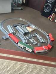 Mth O Gauge Railking Christmas 4-6-0 Steam Freight Train Set W-remote And Sound