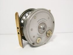 Vintage Rare Hardy The Triumph 3 1/2 Alloy Fly Fishing Reel