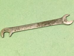 Spanner Classic American Car Tool Kitwilliams Superwrench 1116 1/4 Obstruction