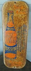 Vintage Mission Of California Thermometer Soda 16 Inches