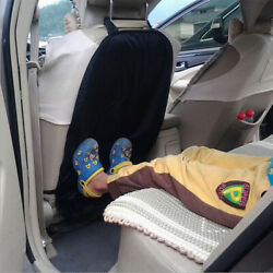 1 Pc Black Universal Car Seat Protector Cover For Child Baby Kick Mat Protect