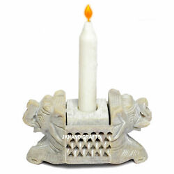 Natural Stone Candle Holder Incense Burner Decorative Antique Vintage Art Gifts
