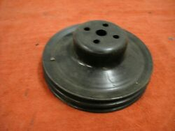 1967-68 Camaro 327,350 And 396 W/smog Upper Pulley, 3900434ab