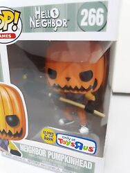 Funko Pop Games 226 Glow-in-the-dark Hello Neighbor Pumpkinhead Toys R Us Excl.