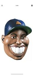 New Famous Faces Nine Iron Costume Tiger Woods Mask Halloween