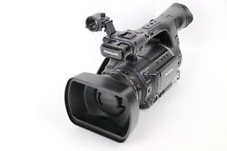 Panasonic AG-AC160AP AVCCAM Camcorder 258 Hours w/ Batteries , Charger ,Remote