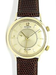 Le-coultre Memovox Vermeil Gold Menand039s Mechanical Men Watch 1960and039s