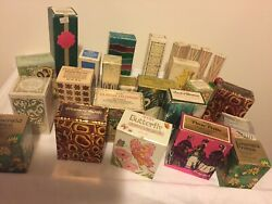 Vintage Avon Perfume Bottles Lot Of 26 New In Boxes