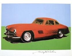 Andy Warhol Hand Signed Signature Cars Series 1986 Print