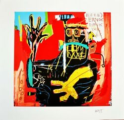 Jean-michel Basquiat Voodoo Limited Edition 1 Of 30