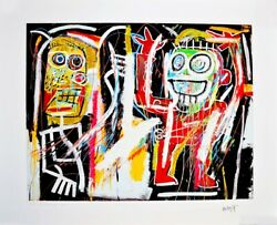 Jean-michel Basquiat Dustheads Limited Edition 2 Of 30