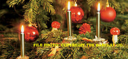 New Gurley Christmas Tree And Chime Candles, Gold, Box Of 12