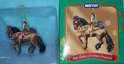 Breyer Holiday Creations 2003 Father Christmas Ornament