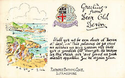 R180075 Greetings From Dear Old Devon. Raparee Bathing Cove. Ilfracombe