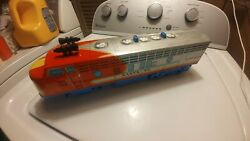 Vintage Modern Toys Tin Japan Battery Operated Santa Fe Train Engine Toy Parts