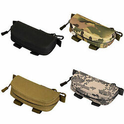 Tactical MOLLE Bag Sunglasses Case Hiking Pouch Eye Glasses Case Holder Travel $8.59