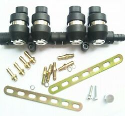 3ohms 4 Cylinder Cng Lpg Injector Rail Super Silent High Speed Common Injector