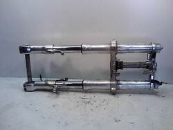 1998 Kawasaki Zx7r Front Forks Suspenssion Triple Tree Clamp Zx 750 R Stock Oem