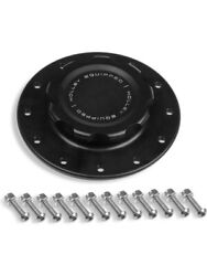 Holley Fuel Cell Cap Screw-on Black Cap Mounting Plate 12 Bolt Holes 241-227