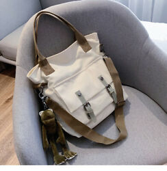 Brand New Nostalgic High capacity Canvas Shoulder Bags Messenger Bags For Women $14.99
