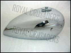 New Ariel 500cc Chrome Petrol Tank With Cap And Tap